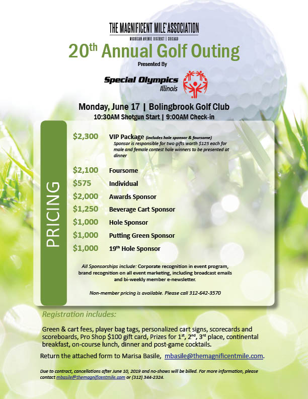 Golf Outing Invitation for Constant Contact